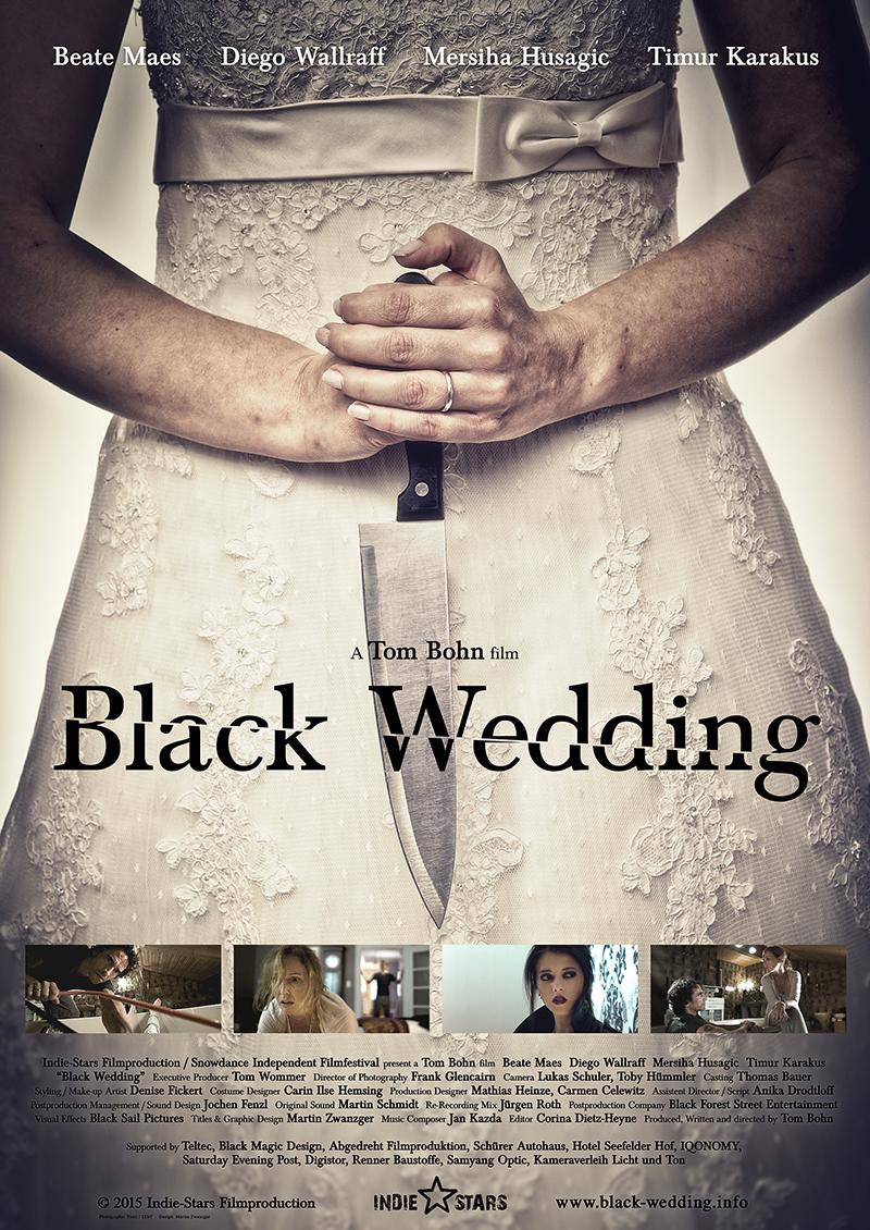 Black Wedding poster
