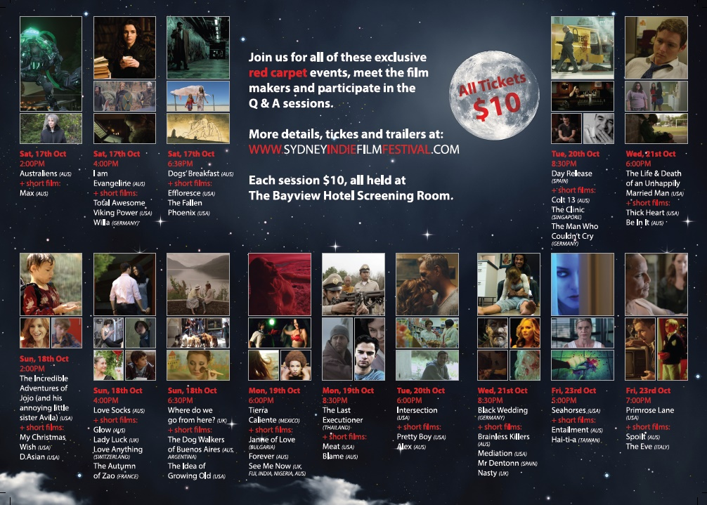 sydney indie film festival programme inside 2015
