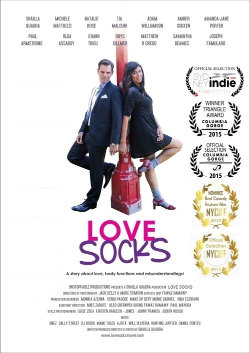 love socks movie poster by shailla