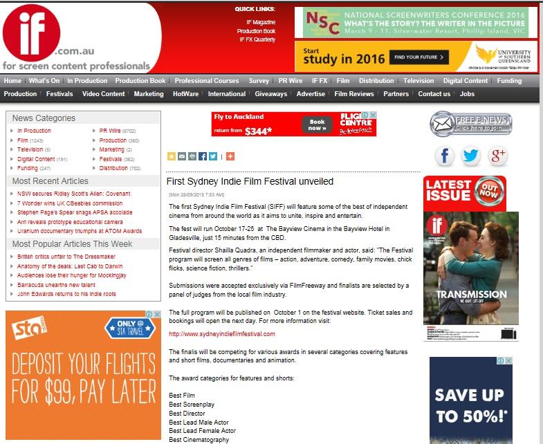 sydney indie at if magazine