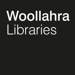 woollahra libraries logo bw