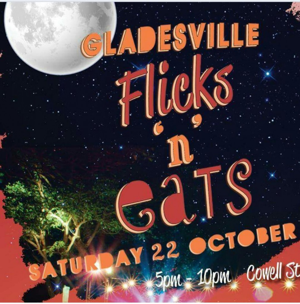 Gladesville flicks n eats 2016