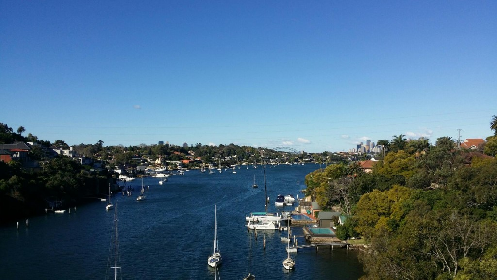 Hunters Hill - Harbour Bridge - Sydney Indie FF