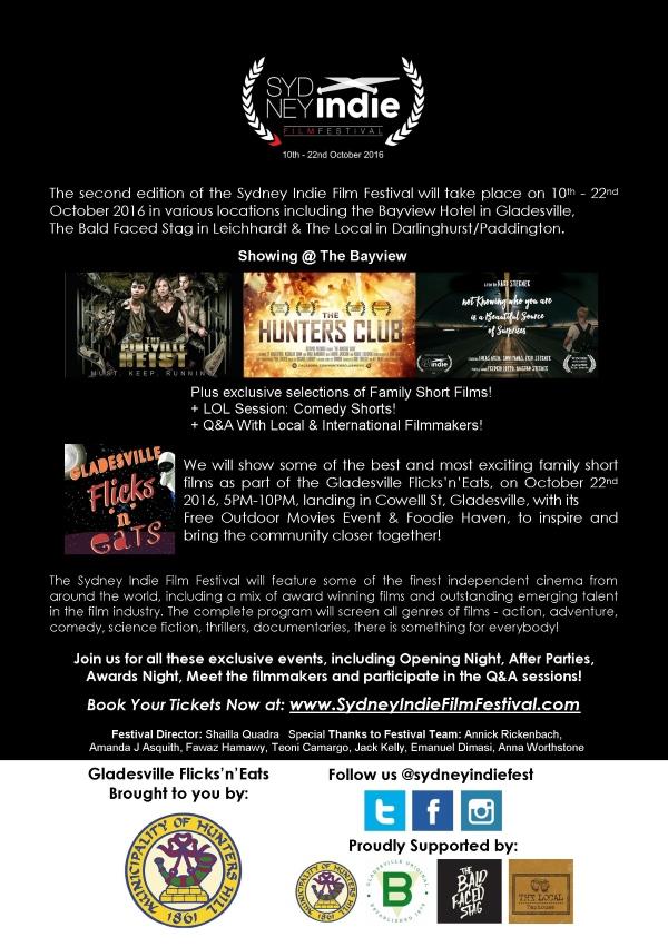 sydney indie film festival 2016