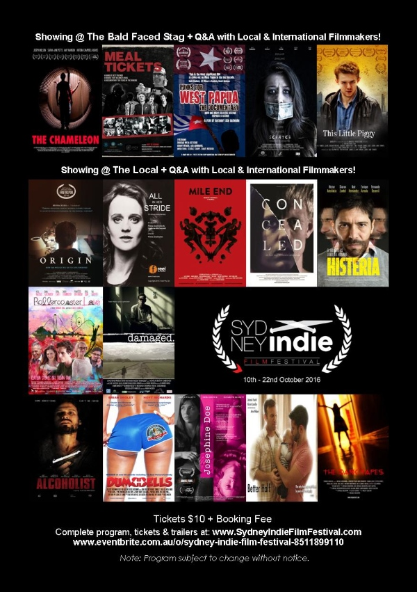 sydney indie film festival program