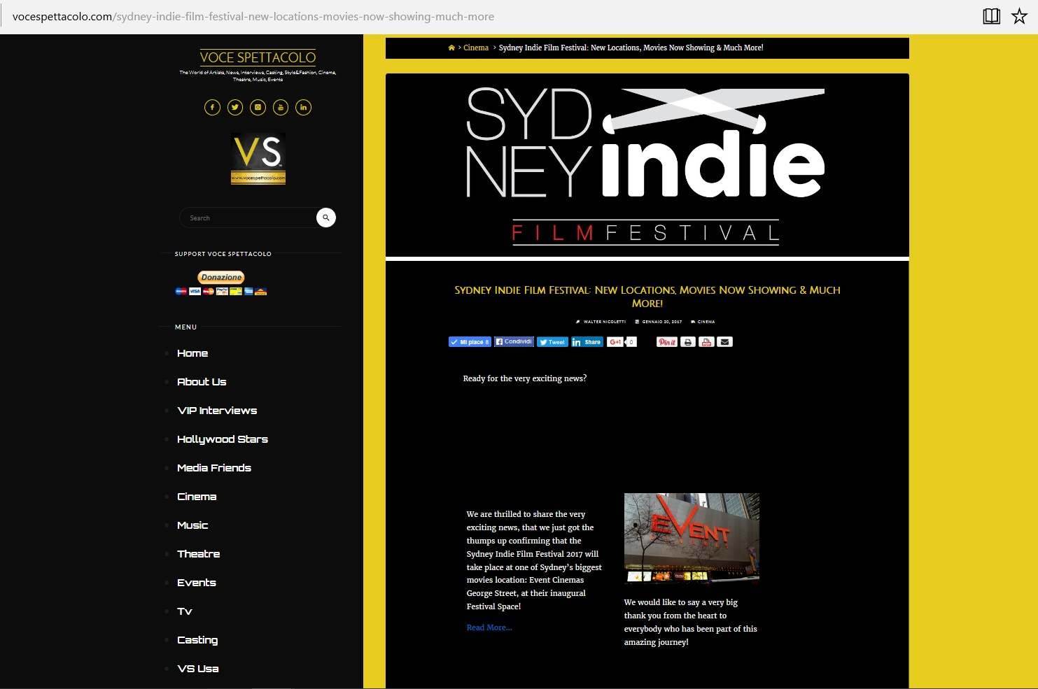 sydney indie ff at voce spettacolo 2017 1