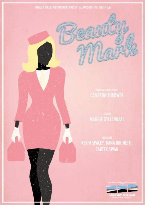 beauty mark by cameron thrower poster
