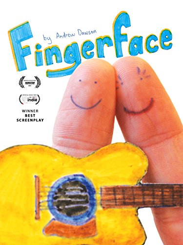fingerface by andrew dawson poster 2016