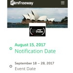 sydney indie film festival notifications 2017