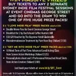 sydney indie film festival - prizes-giveaway