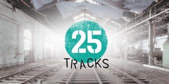 25 tracks poster