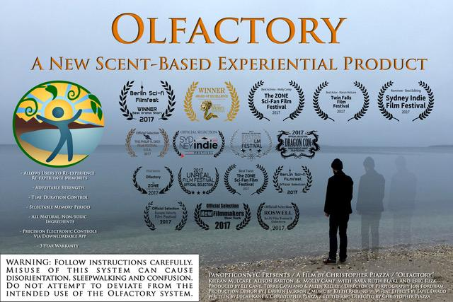 olfactory film poster 2018 now showing