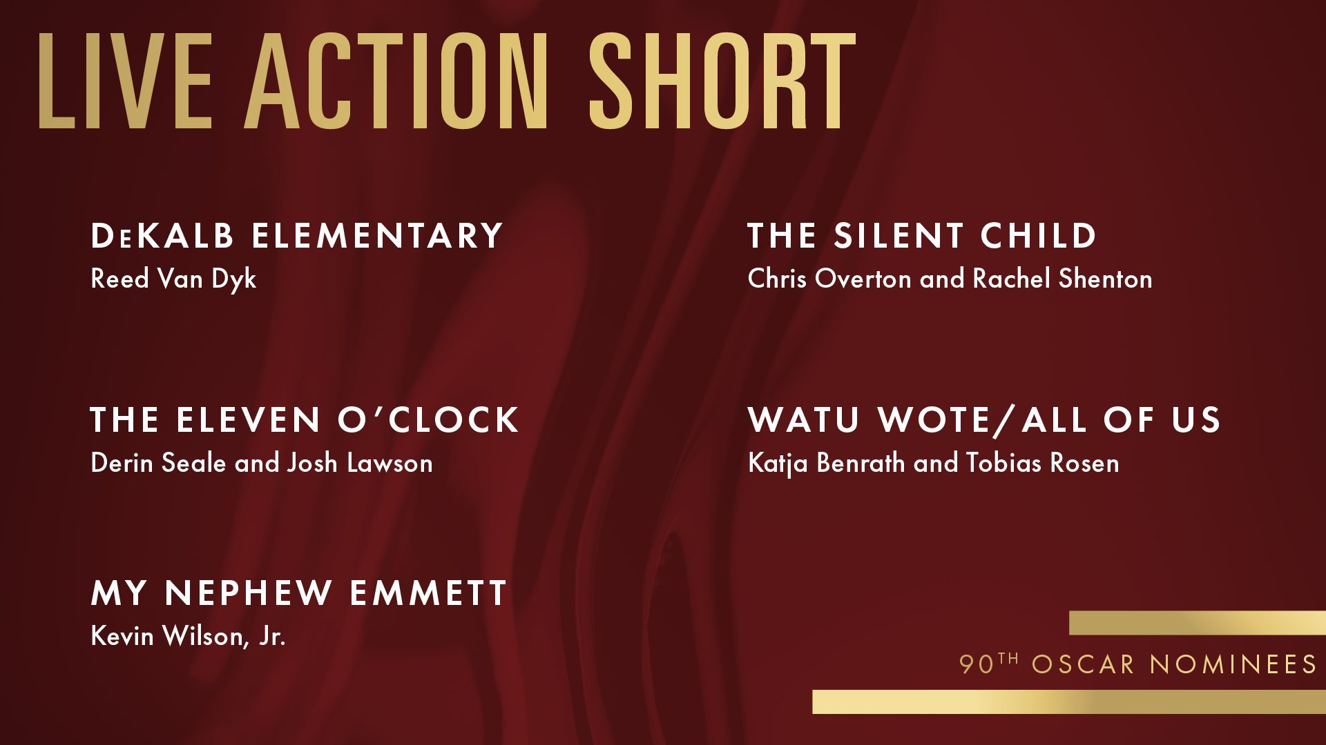 the silent child oscars nomination